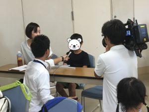 8月24日の親子向けYouTube講座の様子